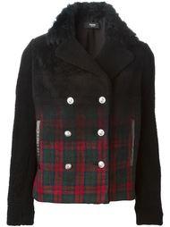 куртка с меховым воротником Versus