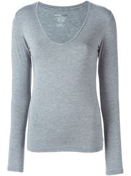 свитер с V-образным вырезом Majestic Filatures