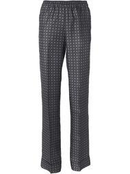 брюки со сплошным узором Michael Kors