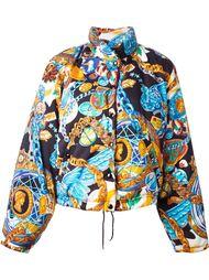 дутая куртка 'Chain and Kenzo Takada'с принтом Kenzo Vintage