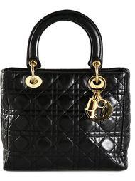 средняя сумка-тоут 'Lady Dior' Christian Dior Vintage