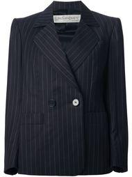 костюм с юбкой в мелкую полоску Yves Saint Laurent Vintage