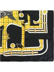 платок с принтом 'Camalis' Hermès Vintage