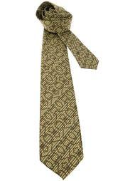 галстук с узором Pierre Cardin Vintage
