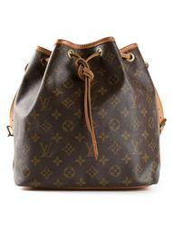 сумка-мешок с монограммным принтом Louis Vuitton Vintage