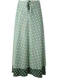 многослойная юбка в горошек  Jean Paul Gaultier Vintage
