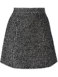 твидовая юбка А-образного силуэта Ermanno Scervino