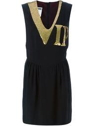 платье 'VIP' с пайетками Moschino Vintage