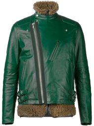 многослойная байкерская куртка  Sacai