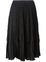 плиссированная юбка  Christian Dior Vintage