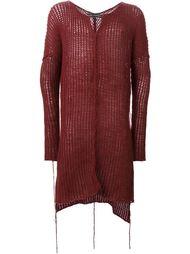 длинный свитер свободной вязки Cedric Jacquemyn