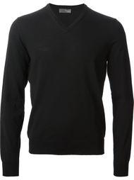 свитер с V-образной горловиной Drumohr