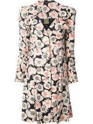 пальто с цветами Biba Vintage