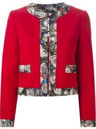 куртка с принтом Moschino