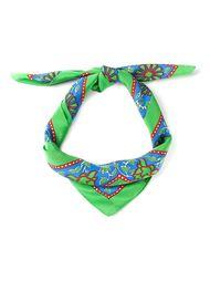 шарф с цветочным принтом Yves Saint Laurent Vintage