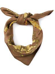 шарф 'Hourvari'  Hermès Vintage
