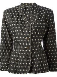 куртка с принтом в череп Jean Paul Gaultier Vintage