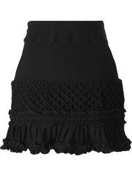 короткая юбка А-образного силуэта  Carven