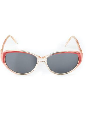 солнцезащитные очки с оправой в рубчик Yves Saint Laurent Vintage