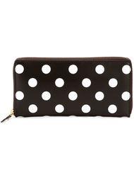 кошелек в горошек 'Polka Dots Printed' Comme Des Garçons Wallet