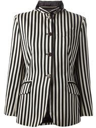 пиджак в вертикальную полоску Jean Paul Gaultier Vintage