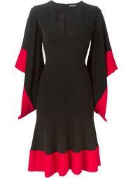 платье с V-образным вырезом Alexander McQueen
