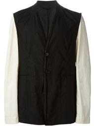 куртка с контрастными рукавами Ann Demeulemeester