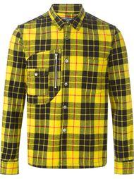 рубашка с узором в клетку Comme Des Garçons Vintage
