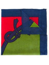 нагрудный платок дизайна колор-блок Roberta  Di Camerino Vintage