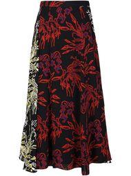 асимметричная юбка Tanya Taylor