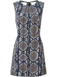 платье с панельным дизайном и принтом Marc Jacobs