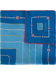 платок с принтом Chanel Vintage