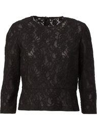 кружевная блузка Comme Des Garçons
