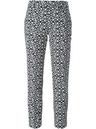 жаккардовые брюки со звездами Neil Barrett