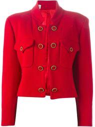 укороченный пиджак на пуговицах Moschino Vintage