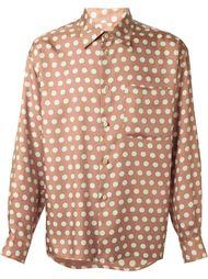 рубашка в горошек  Jean Paul Gaultier Vintage