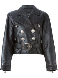 куртка с поясом Versace Vintage
