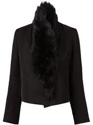 куртка с отделкой из овчины Ann Demeulemeester