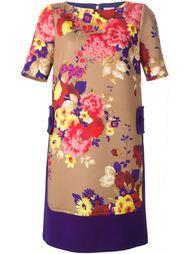платье-шифт с цветочным принтом  Antonio Marras