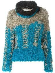 ворсистый свитер Issey Miyake Vintage