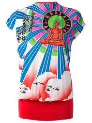 топ с принтом 'Buddha' Kansai Yamamoto Vintage