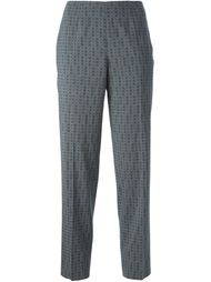 брюки с принтом  Piazza Sempione