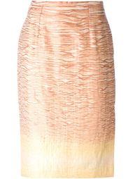 юбка-карандаш с градиентным эффектом Jean Louis Scherrer Vintage