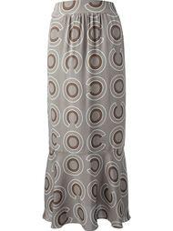 юбка с завышенной талией Chanel Vintage