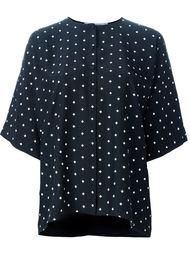 блузка с узором в крестики Givenchy