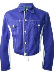 джинсовая куртка колор блок Jean Paul Gaultier Vintage