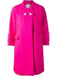 пальто с застежкой на две пуговицы Sacai