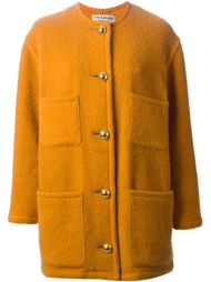 однобортное пальто  Guy Laroche Vintage