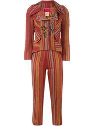 полосатый костюм-двойка Christian Lacroix Vintage