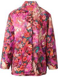 стёганое пальто 'Pegas' с принтом Kenzo Vintage